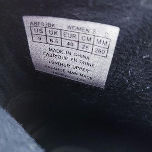Aravon Shoes - Aravon black Anstice AR leather ankle booties sz 9